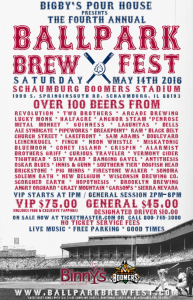 Ballpark Brew Fest @ Schaumburg Boomers Stadium | Schaumburg | Illinois | United States