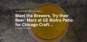 Marz Brewing at GE Bistro @ Graham Elliot Bistro | Chicago | Illinois | United States