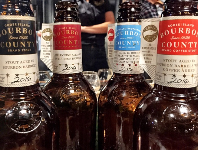 The 2016 Goose Island Bourbon County Stout Lineup