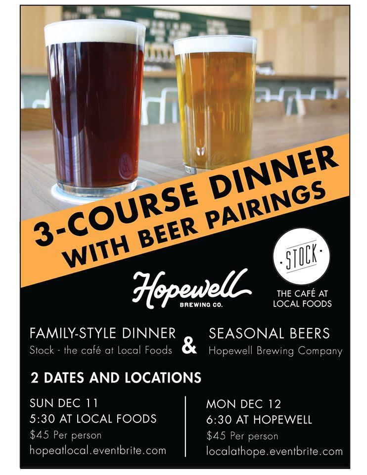 3-Course Beer Dinner with Pairings @ Hopewell Brewing Company | Chicago | Illinois | United States