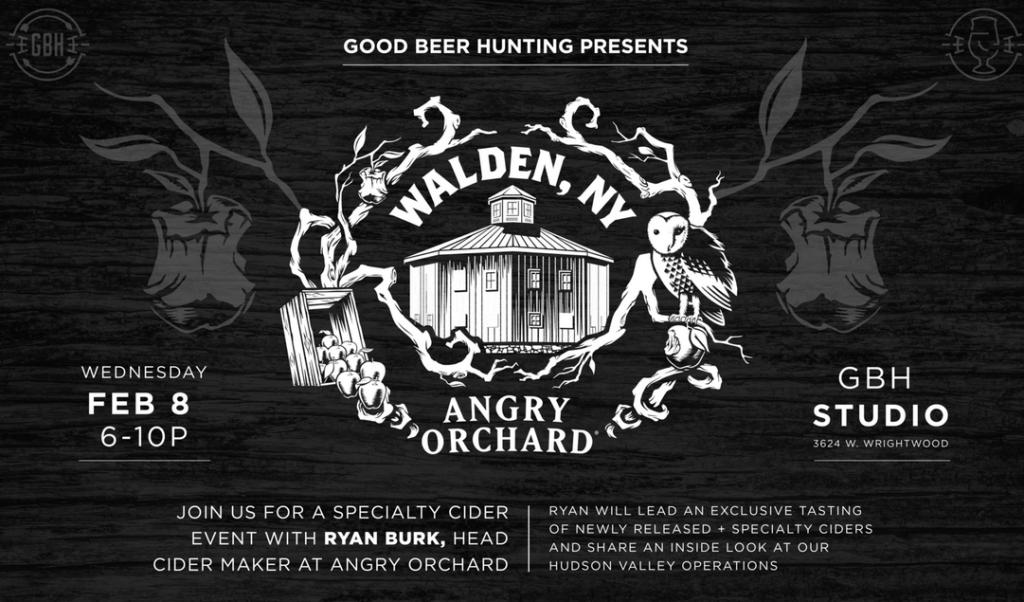Angry Orchard x Good Beer Hunting