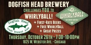 Chicago Beat The Brewer: Dogfish Head @ WhirlyBall Chicago | Chicago | Illinois | United States