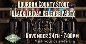 2017 Goose Island Bourbon County Stout Release supporting the Movember Foundation @ WhirlyBall Bucktown | Chicago | Illinois | United States