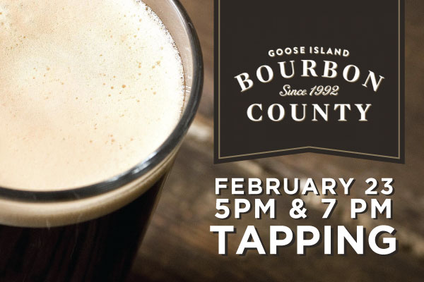 Goose Island Bourbon County Tapping @ Old Town Pour House Naperville