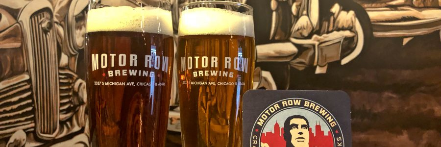 Motor Row Brewing: Craft Lagers in Chicago's Historic Automotive District