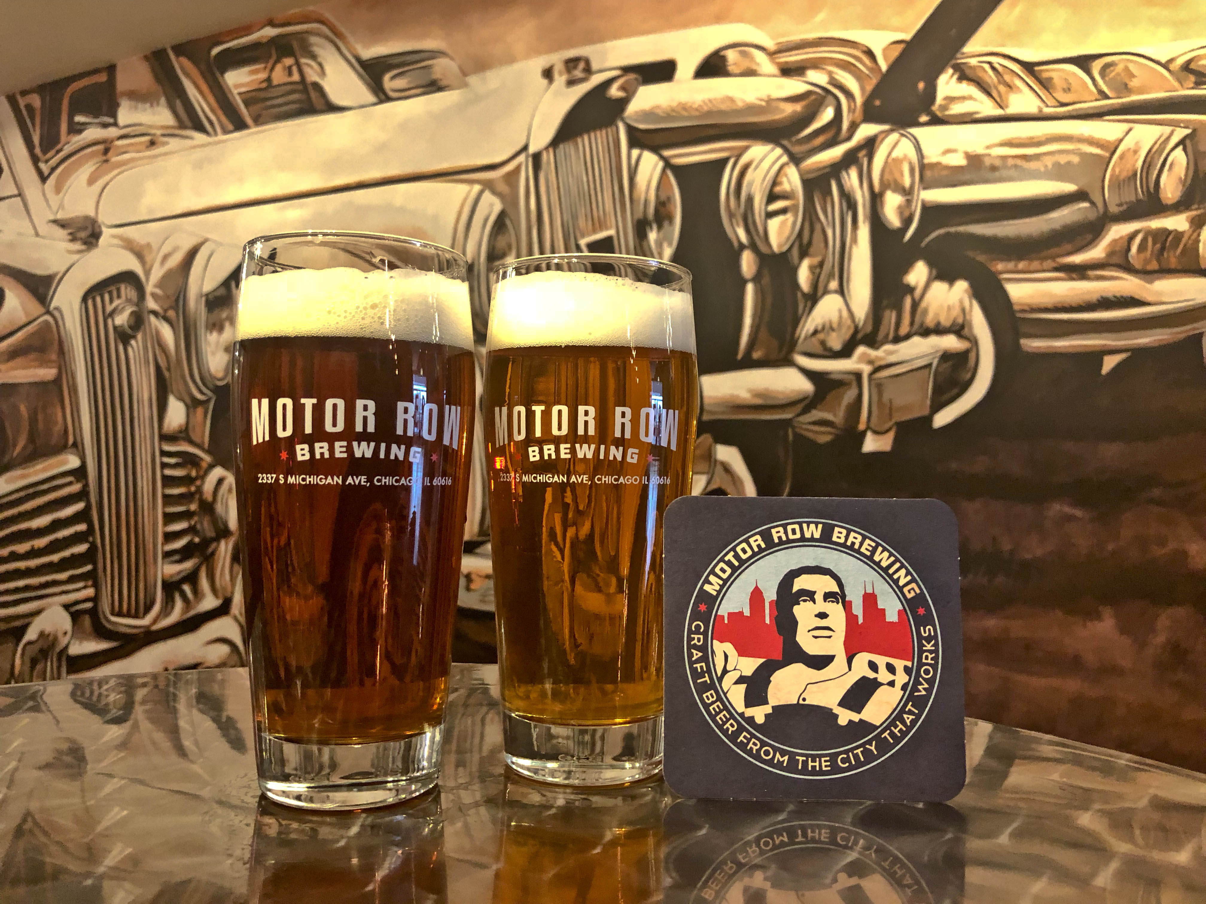Motor Row Brewing Craft Lagers In Chicago S Historic