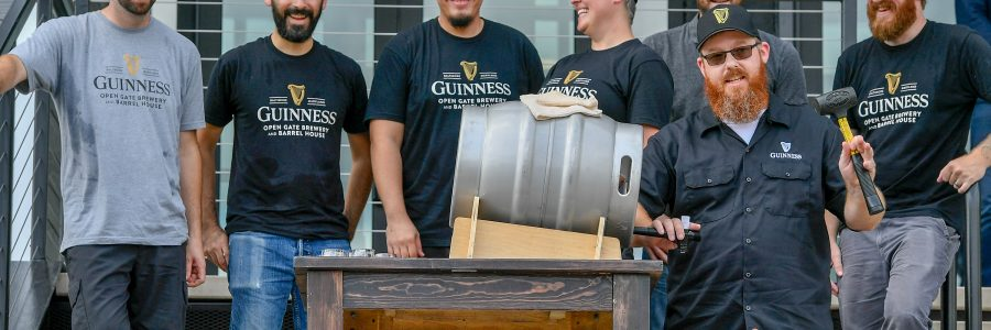 Guinness Open Gate Brewery & Barrel House Maryland Now Online